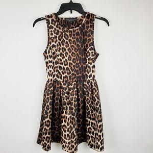 TopShop leopard print dress.  R10